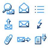 E-mail 2 icons Royalty Free Stock Photo