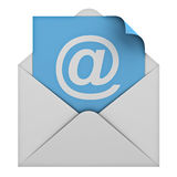 E mail. Email concept isolated on white background vector illustration