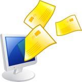 e - mail zdjęcie stock