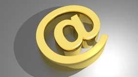 At - E-mail Stock Photography