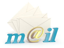 E-mail Royalty-vrije Stock Afbeelding