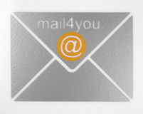 - e - mail Fotografia Royalty Free