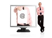 - e - mail Zdjęcie Stock