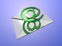 E-Mail. Background possible to use for printing and project Royalty Free Stock Photo
