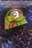 E-Mail. Background possible to use for printing and project Royalty Free Stock Images