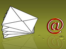 E-mail Royalty Free Stock Images