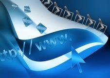 E-mail address royalty free stock photos