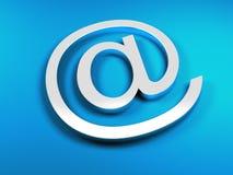 E-mail blue sign Stock Photos
