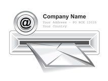E-mail box royalty free illustration