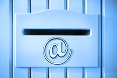 E-Mail-Briefkasten-Post-Technologie Stockbild