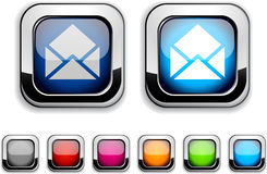 E-mail button. Royalty Free Stock Images