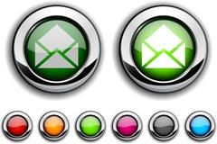 E-mail button. Stock Photos
