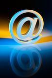 E-mail characters. Online communication. Stock Photography