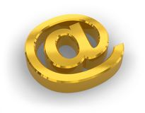 E-mail concept Royalty Free Stock Images