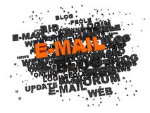 E-MAIL concept Stock Photos