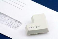 E-mail concept stock foto's