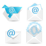 E mail concept. Royalty Free Stock Photography