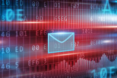 E-mail concept Stock Afbeelding