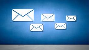 E-mail concept Royalty-vrije Stock Foto's
