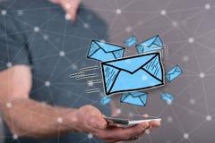 Concept of e-mail Royalty Free Stock Photos