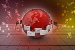 E mail concept Stock Photo