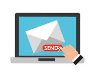 E-mail concept Stock Photography