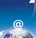 E-mail connection Stock Photos