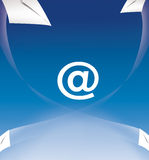 E-mail connection Royalty Free Stock Photography