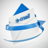 E-mail. 3d high quality render Royalty Free Stock Images
