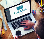 E-mail Digital Homescreen Concept Royalty Free Stock Image