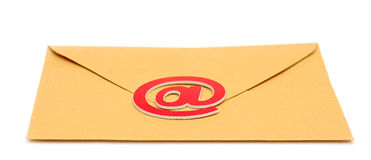 E-mail envelope Royalty Free Stock Images