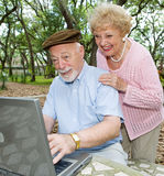 E-mail from the Grandkids Stock Photography
