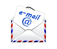 E-mail icon. On a white background Stock Photo
