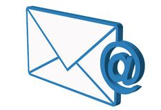 E-mail icon Royalty Free Stock Photo