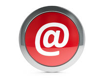 E-mail icon with highlight Stock Images