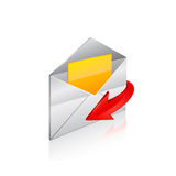 E-mail icon. Stock Images