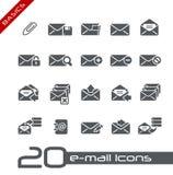 E-mail Icons // Basics Royalty Free Stock Photo
