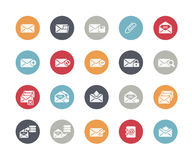E-mail Icons // Classics Royalty Free Stock Photography