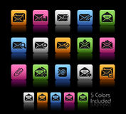 E-mail Icons // Color Box Stock Images