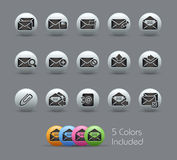 E-mail Icons // Pearly Series Stock Photos