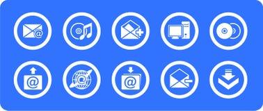 Free E-mail Icons Set Royalty Free Stock Photo - 7813245