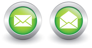 E-mail icons. Vector illustration for web design Stock Photo