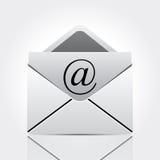E-Mail-Ikone Lizenzfreies Stockfoto