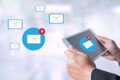 E-Mail-Ikone Konzept Stockfoto