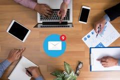 E-Mail-Ikone Konzept Lizenzfreies Stockfoto