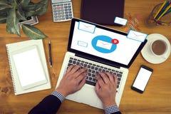 E-Mail-Ikone Konzept Stockfotografie