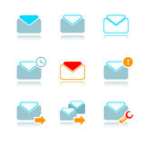 e - mail ikony Obraz Stock