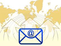 E-mail and Internet Royalty Free Stock Photo