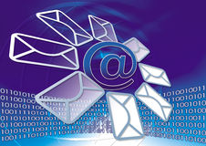 E-mail and Internet Royalty Free Stock Image