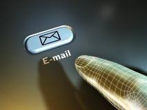 E-mail key stock illustration